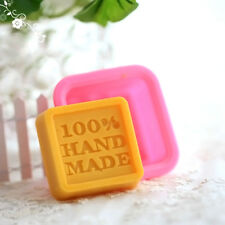 Silikon Quadratische Seifen Form Mould DIY Hand Made Soap Molds