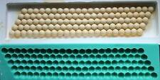 Silicone Mould BORDER OF PEARLS 5 ROWS Cake Decorating Fondant / fimo mold