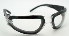 Pro Rider Plus Padded Safety Glasses Clear Lens Z87.1