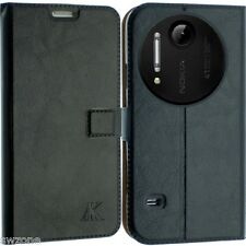 FOR NOKIA LUMIA 1020 LEATHER CASE COVER WALLET POUCH FLIP SLIM SKIN N1020 SW 22