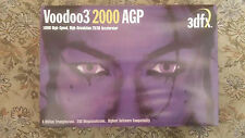 3dfx Voodoo3 1000 graphics card 16MB AGP BOX