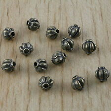 50pcs bronze-tone spacer beads h2910