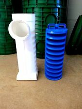TUF-TITE EF-6 EFFLUENT SEPTIC TANK FILTER SOLIDS DEFLECTOR AND ADAPTER