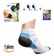 Dr. Kelly's Plantar Fasciitis Arch Support Compression Sock Foot Sleeve Kit