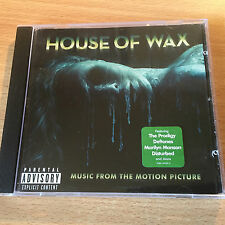 """HOUSE OF WAX""- OST 2005-PRODIGY-DEFTONES-MANSON-MY CHEMICAL-IGGY-BRAND NEW CD"