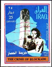 Irak Iraq 1995 ** Bl.72 Embargo Blockade