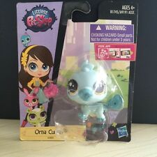 Hasbro Littlest Pet Shop 3885 LPS Orna Curly  Platypus Toys Rare Animal Figure