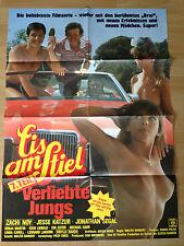 Filmposter * Kinoplakat * A 1 * Eis am Stiel 7. Teil - Verliebte Jungs * EA 1987