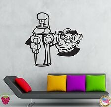 Wall Stickers Vinyl Decal Paint Can Street Urban Teen Youth Decor  (z2124)