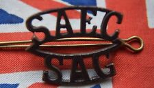 SOUTH AFRICAN ARMY FORCES MILITARY SHOULDER TITLE BADGE Africa SAEC SAG