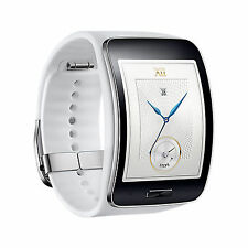 New SAMSUNG Galaxy Gear S Smart Watch SM-R750 Curved Super AMOLED [ WHITE ]