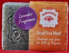 2  Dead Sea Mud Soap-Lavender Scented special from the Holy land of Israel