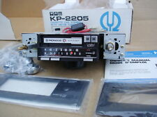Pioneer car stereo KP-2205 new old stock + 2 amps + 2 pair speakers, crossovers