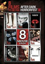 Afterdark Horrorfest: 8 Movie Pack Combo Movies DVD FREE SHIPPING NEW HKS