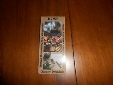ROSS - Name / Character / Origin - Plastic Bookmark