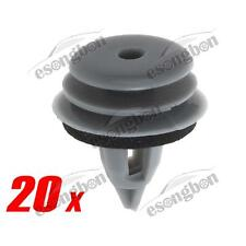 20x Door Lateral Trim Panel Grey Clip for BMW 325i 330i 525i 530i M3 M5 X5 X6