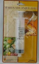 Meat Marinade Injector for Chicken Turkey Fish Beef Juice Spices Syringe NEW
