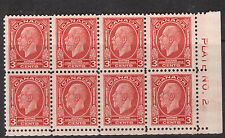 Canada #192i NH Mint Plate #2 LR Block With Broken E Variety