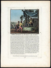 Antique Print-ROLLO-ROBERT I-NORSE VIKING-NORMANDY-RAOUL-Moret-Desfontaines-1791