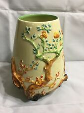 CLARICE CLIFF INDIAN TREE OVOID SHAPE 989 VASE C1937 EXCELLENT CONDITION