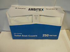 500 Toilet Seat Covers. 100% Flushable. Great for camping, vacations, etc. NJ63