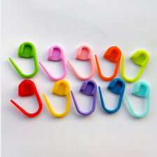 100Pcs Knitting Weave Plastic Crochet Knitting Needles Clip Markers Hooks Sewing