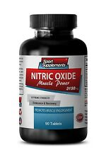 L-Citrulline - Nitric Oxide Muscle Power 3150mg - Help Increase Endurance 1B