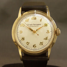 50s Vintage GIRARD PERREGAUX Automatic 47 SWISS WATCH MEN 10K GOLD FILLED