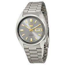 SEIKO MEN AUTOMATIC SEE THROUGH STEEL WATCH SNXS75 SNXS75K1