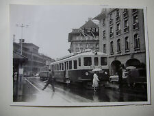 SUIS545 - 1950s SOLOTHURN-ZOLLIKOFEN-BERN BAHN - TRAIN PHOTO Switzerland