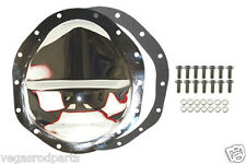 """GM Differential Cover Steel Chrome GM 9.5"""" Kit GMC rear 14 bolt 9.5 ring diff tr"""