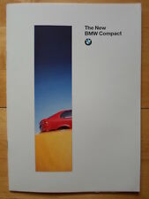BMW 3 Series Compact 1994 prestige UK Market brochure prospekt