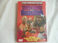 ECW NOVEMBER TO REMEMBER 95 (WWE, WWF, ROH)
