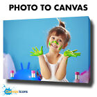 "PHOTO TO CANVAS PERSONALISED PICTURE PRINT ON CANVAS A1 20"" x 30"" CUSTOM OPTIONS"