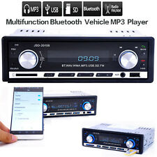 Car Stereo FM Radio MP3 Audio Player Bluetooth Phone USB/SD MMC In-Dash Remote
