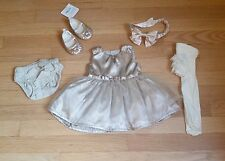 Baby girl holiday Christmas outfit 3 months Gymboree Carter's EUC