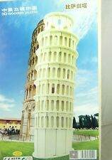 WoodCraft Construction Kit 3D Wooden Puzzle Leaning Tower of Pisa Model Jigsaw