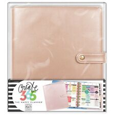 NEW MAMBI CLASSIC The Happy Planner- Classic Deluxe Cover, Rose Gold pastel blue