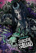SUICIDE SQUAD MANIFESTO ENCHANTRESS CARA DELEVINGNE JARED LETO WILL SMITH ROBBIE