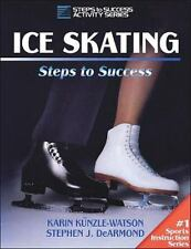 Ice Skating: Steps to Success (Steps to Success Activity Series)-ExLibrary