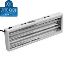NEW T5 2 Ft 2 Bulb GROW LIGHT Fluorescent System w Lamps VEG 6500K