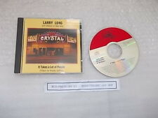 CD Folk Larry Long - It Takes A Lot Of People (17 Song) FLYING FISH Songwriter
