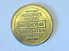 Reader's Digest  Association Ltd Gold Token RD  PD  65
