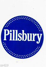 "4.5"" PILLSBURY DOUGHBOY LOGO CHEF BAKER WALL SAFE STICKER BORDER CUT OUT"