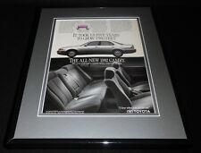1992 Toyota Camry Framed 11x14 ORIGINAL Advertisement