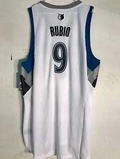 Adidas Swingman NBA Jersey Timberwolves Ricky Rubio White sz 4X