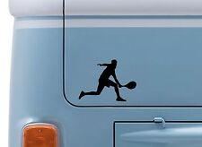 Tenis hombre #2 Vinilo calcomanía adhesivo con el logotipo de tenis de Wimbledon Camper VW insignia de van