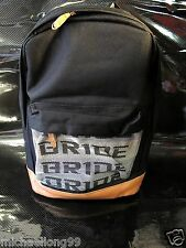 SPARCO BRIDE BACKPACK RACING HARNESS SEAT BELT BROWN with GREEN BAG DRIFTING JDM