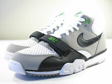 DS NIKE AIR TRAINER 1 2012 OG RETRO CHLOROPHYLL 10 SUPER BOWL NFL 91 SC MAX 1 90