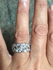 ANTIQUE ETERNITY 3 CARATS OF SPARKLING DIAMONDS RING BAND